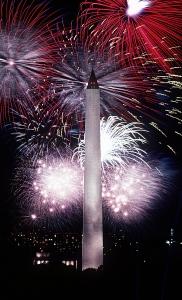 4th july-washington-monument