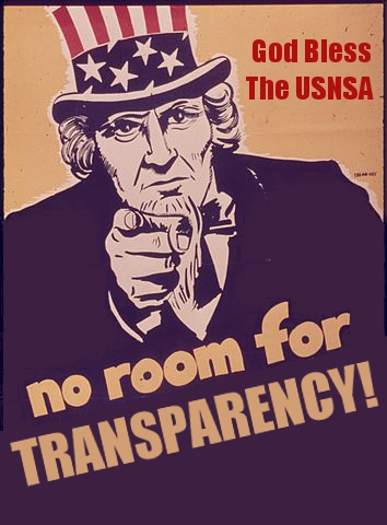 USNSA-No Room Transparency