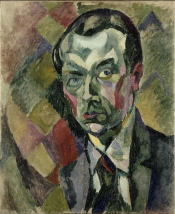 Robert Delaunay - Self-portrait - MNAM Pompidou Paris