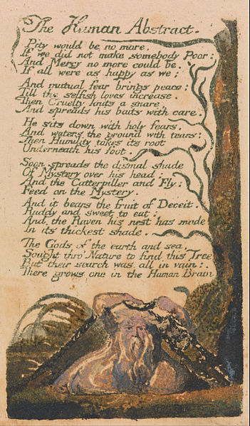 William Blake - Songs of Innocence and of Experience - The Human Abstract