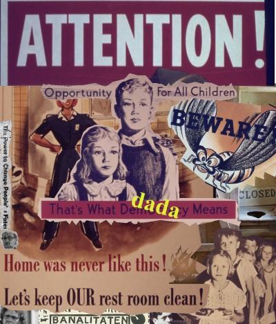 Dada Kindergarten by Jay Schwartz