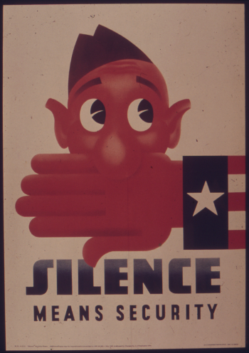Silence Means Security - NARA