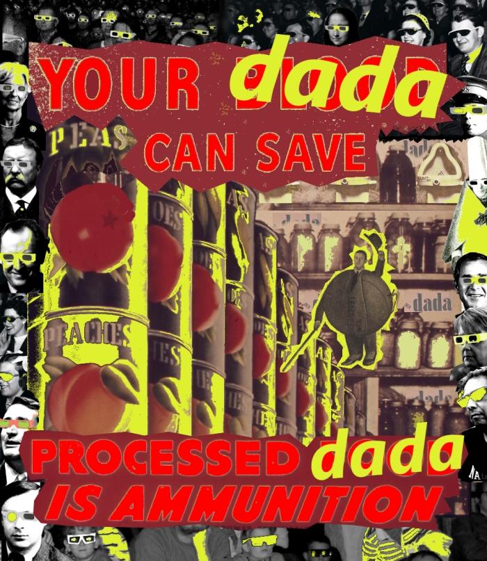 'Dada Saves' by Jay Schwartz