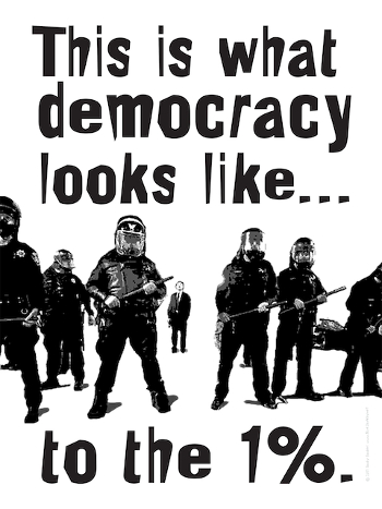 One Percent Democracy - Occupy Wall Street