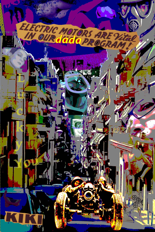 'Kiki Dada Motors' by Jay Schwartz @Jschwartz63 Tribute to Kiki de Montparnasse