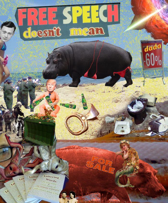 """""""Dada Free Beach"""" by Jay Schwartz @Jschwartz"""