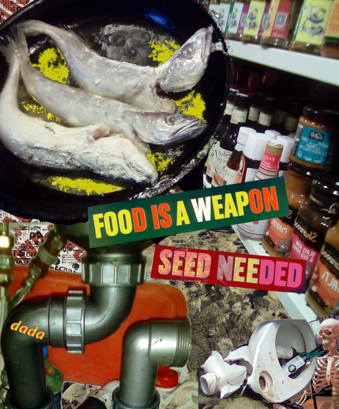 Dada Seed by Jay Schwartz @Jschwartz63 Dadaism Dada Collage Art