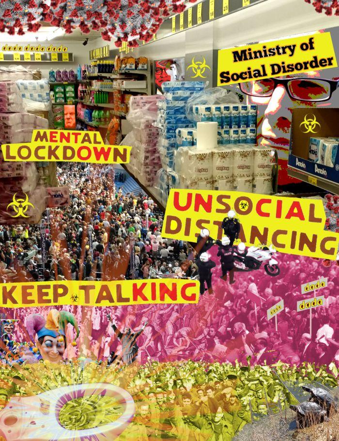 'Dada Ministry Of Social Disorder' - Jay Leonard Schwartz